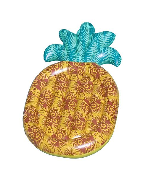 "Swimline Tropical 86"" Pineapple Inflatable Pool Float"