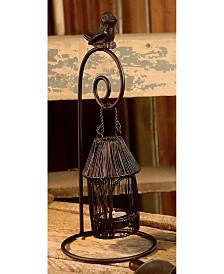 "St. Croix KINDWER Large 13"" Birdhouse Tealight Candle Holder"
