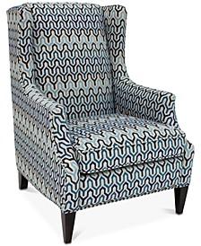 "Devendra 29.5"" Fabric Wing Chair"