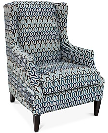 "Devendra 29.5"" Fabric Wing Chair"