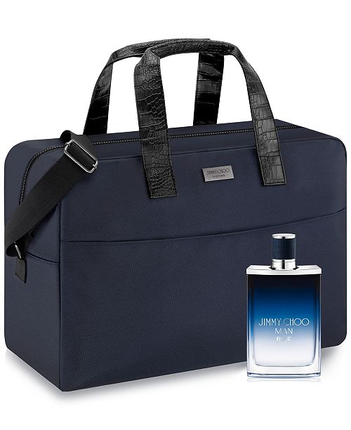 Jimmy Choo Men's 2-Pc. Man Blue Gift Set