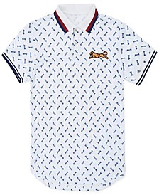 Men's Garrett Tiger Polo Shirt