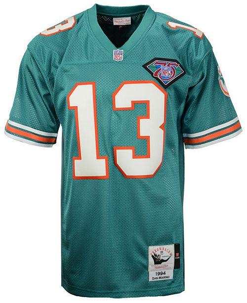 new styles 16b03 5dfce Men's Dan Marino Miami Dolphins Authentic Football Jersey