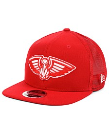 New Era New Orleans Pelicans Dub Fresh Trucker 9FIFTY Snapback Cap