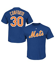 Majestic Toddlers Michael Conforto New York Mets Official Player T-Shirt