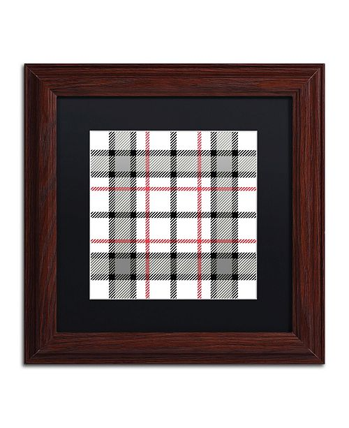 """Trademark Global Color Bakery 'Group 04 A' Matted Framed Art - 11"""" x 11"""""""