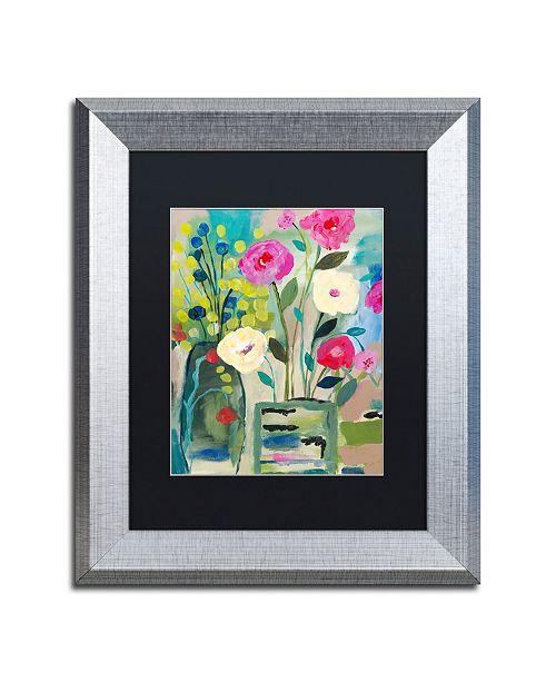 """Trademark Global Carrie Schmitt 'Faith' Matted Framed Art - 11"""" x 14"""""""