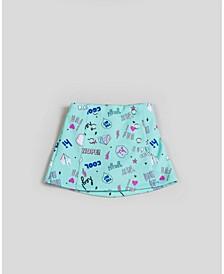Big, Little, & Toddler Girls Scuba Printed Skirt