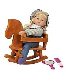 "13"" My Rocking Horse Doll Set"