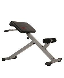 Sunny Health and Fitness 45 Degree Hyperextension Roman Chair