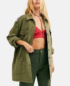Free People Spruce Military Jacket