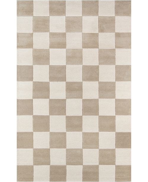 Novogratz Collection Novogratz Delmar Del-3 Taupe 5' x 8' Area Rug