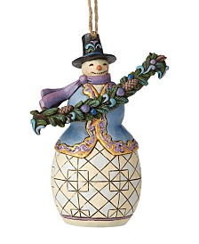 Jim Shore Snowman with Garland