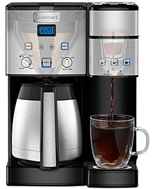 SS-20 Coffee Center 10-Cup Thermal Coffeemaker & Single-Serve Brewer