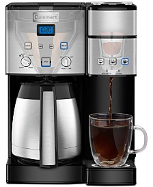 Cuisinart SS-20 Coffee Center 10-Cup Thermal Coffeemaker & Single-Serve Brewer