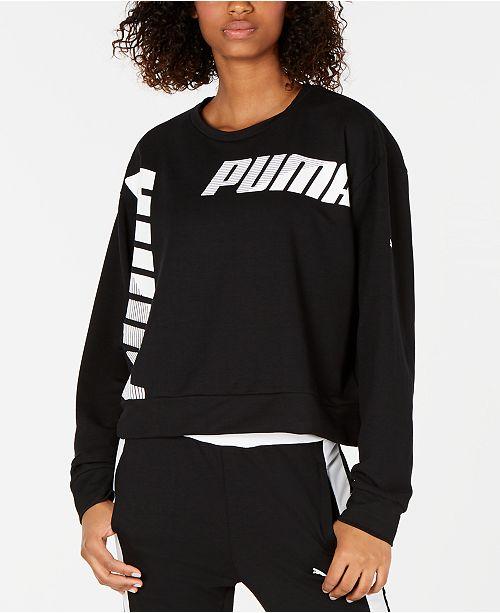 Puma Modern Sport Logo Sweatshirt & Reviews Tops