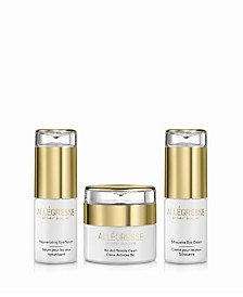 Allegresse 24K Skincare Eye and Anti Aging 3 Piece Set