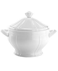 Dinnerware, Antique White Covered Casserole