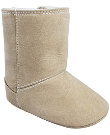 Baby Girl Suede Cloth Boot