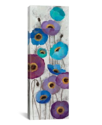 Bold Anemones Panel Ii by Silvia Vassileva Gallery-Wrapped Canvas Print - 36