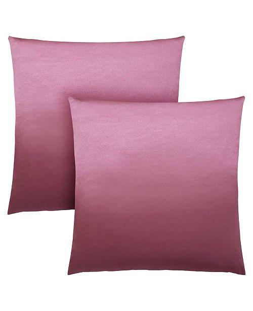 "Monarch Specialties 18"" x 18"" Satin Pillow, Set Of 2"
