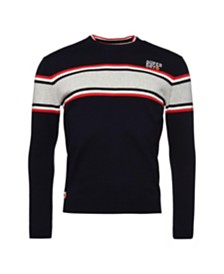 Superdry Men's Parallel Stripe Crewneck Sweater