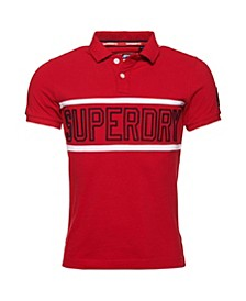 Men's Retro Sports Polo Shirt
