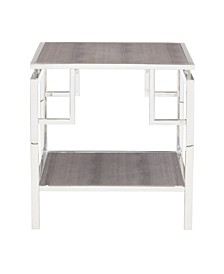 Halton Metal End Table