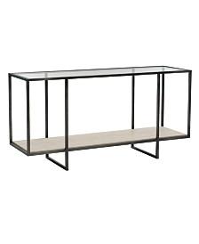 Bernhardt Harlow Metal Console Table