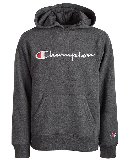 Champion Toddler Boys Embroidered Pullover Fleece Hoodie