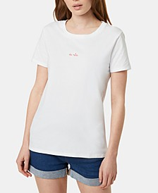 Cotton Be Nice Embroidered T-Shirt