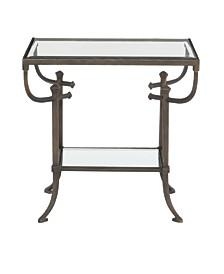 Hawthorne Metal End Table