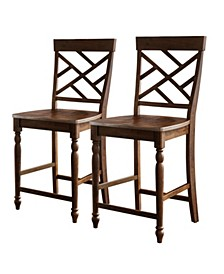Liam Counter Stool, Set of 2