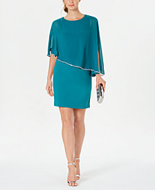 MSK Overlay Dress