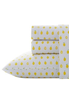 Lemons Sheet Set, Queen