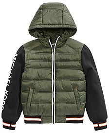 Big Boys Hooded Jacket