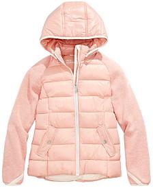 Michael Michael Kors Toddler Girls Hooded Puffer Jacket