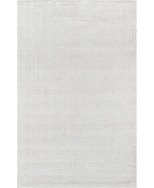 Erin Gates Ledgebrook Led-1 Washington Ivory 5' x 8' Area Rug