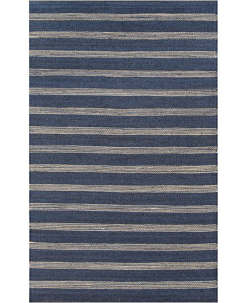 "Novogratz Collection Novogratz Montauk Mtk-1 Navy 7'6"" x 9'6"" Area Rug"