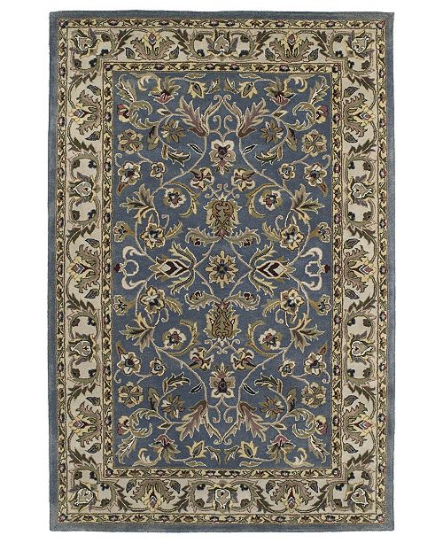 "Kaleen Mystic William-01 Blue 3'6"" x 5'3"" Area Rug"