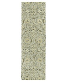 "Helena Athena-00 Silver 2'6"" x 8' Runner Rug"