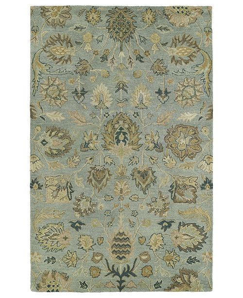 "Kaleen Helena Troy-03 Spa 5' x 7'9"" Area Rug"