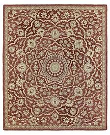Solomon Nehemiah-55 Red 9' x 12' Area Rug