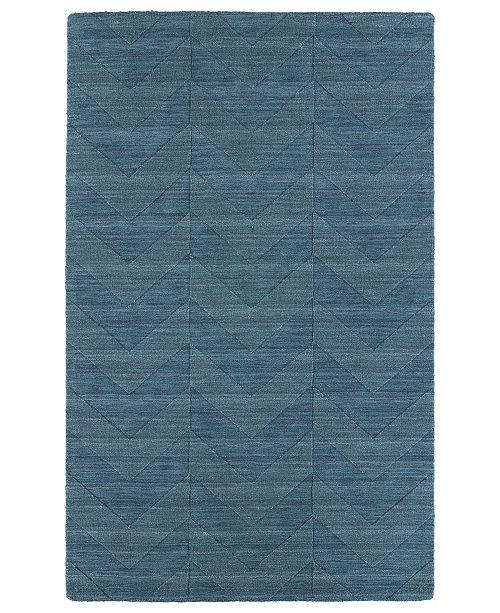 Kaleen Imprints Modern IPM05-78 Turquoise 2' x 3' Area Rug