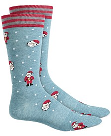 Men's Santa Socks, Created for Macy's