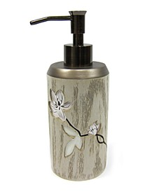 Magnolia Floral Lotion Dispenser