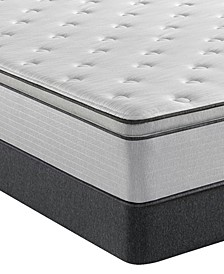 "BR800 13.5"" Medium Pillow Top Mattress Set- Twin"