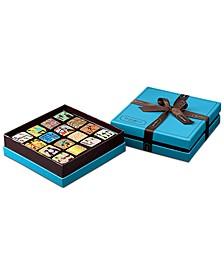 Ganache Blue Box 16-Piece