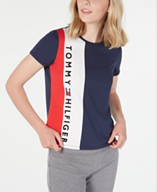 Tommy Hilfiger Colorblocked Logo Top