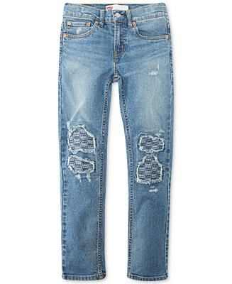 Big Boys Destructed Stretch Jeans by General